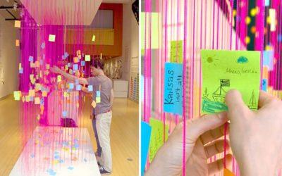 Exposición en AIGA (Asociación Americana de diseñadores), New York.
